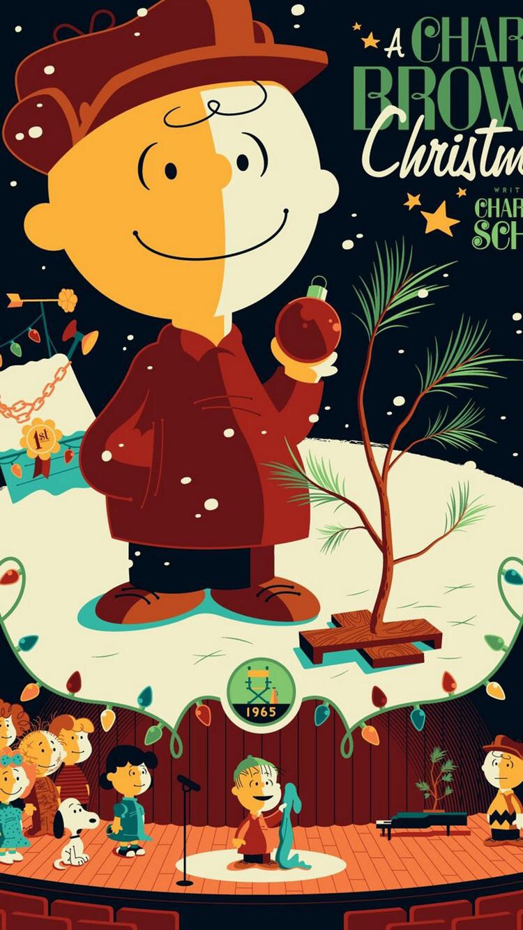 Iphone And Android Wallpapers Charlie Brown Christmas Iphone