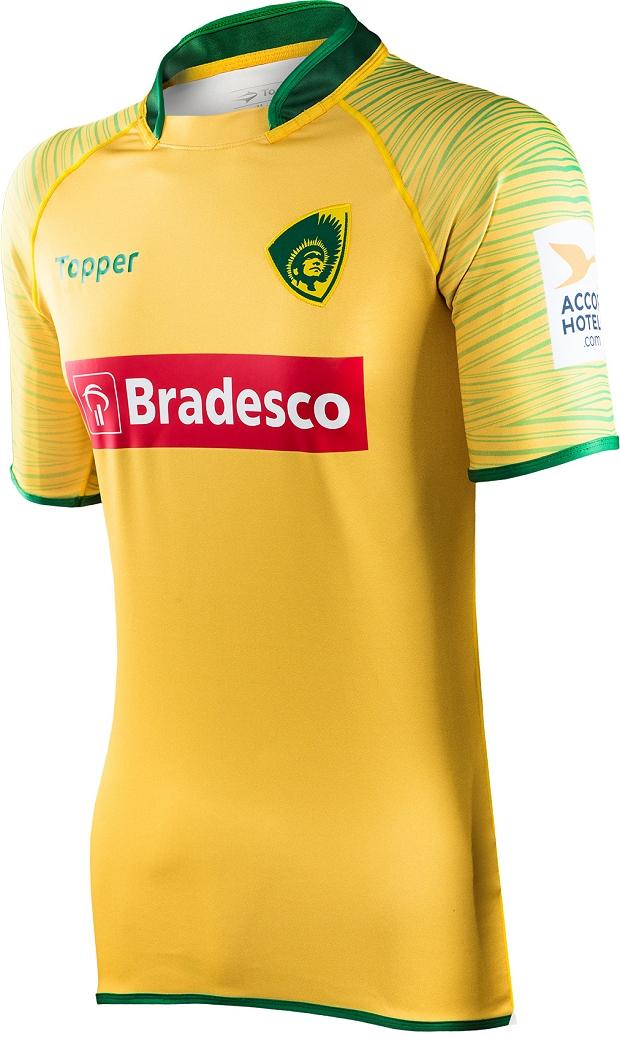 e6eb2bcc45 Topper lança as camisas da Seleção Brasileira de rugby - Show de Camisas