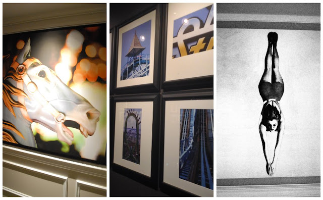 Stunning artwork @CedarPoint Hotel Breakers #bloggingatCP