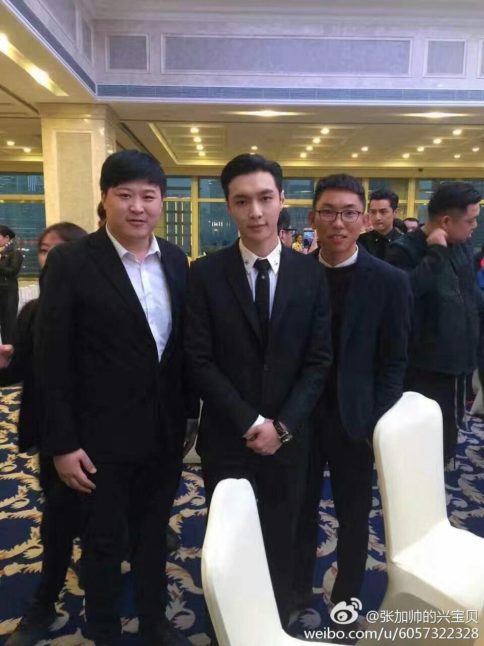 170226 张加帅的兴宝贝 Weibo Update with Lay