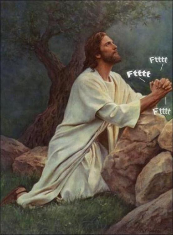 Stop And Laugh Jesus Prays For All Of Us