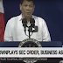 Duterte latest news January 17, 2018 Duterte had no hand in the SEC decision