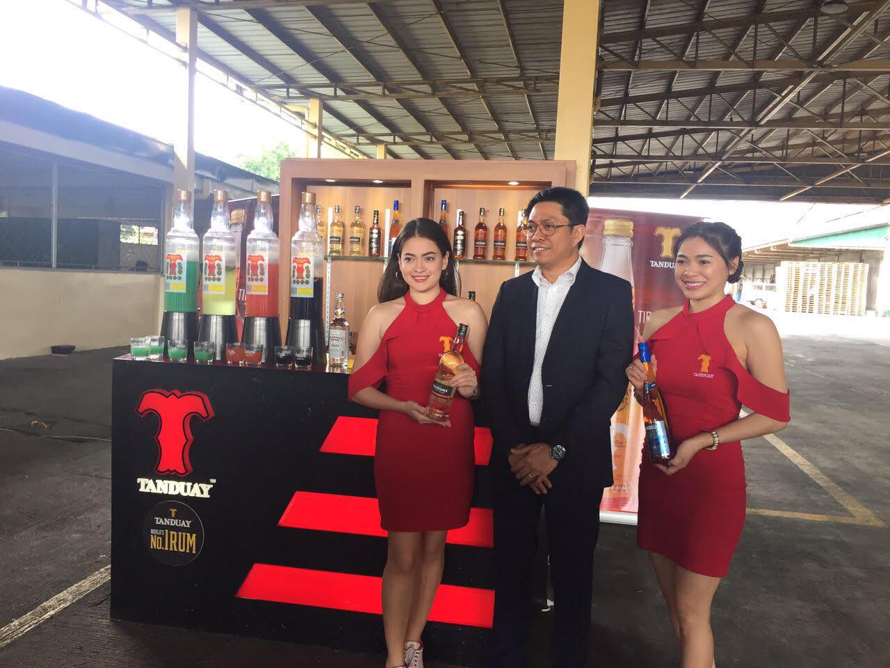 Plant visit at Tanduay Distillers in Laguna.