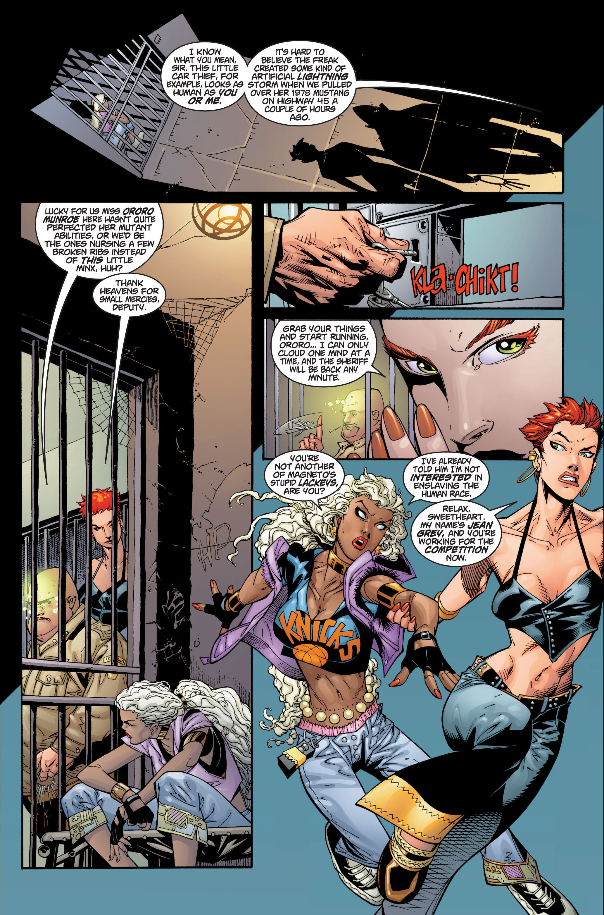 Read online Ultimate X-Men comic -  Issue #1 - 12