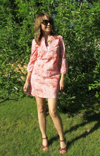 Summer dress, dress, sewing, etcetorize, New Look Dress, tunic