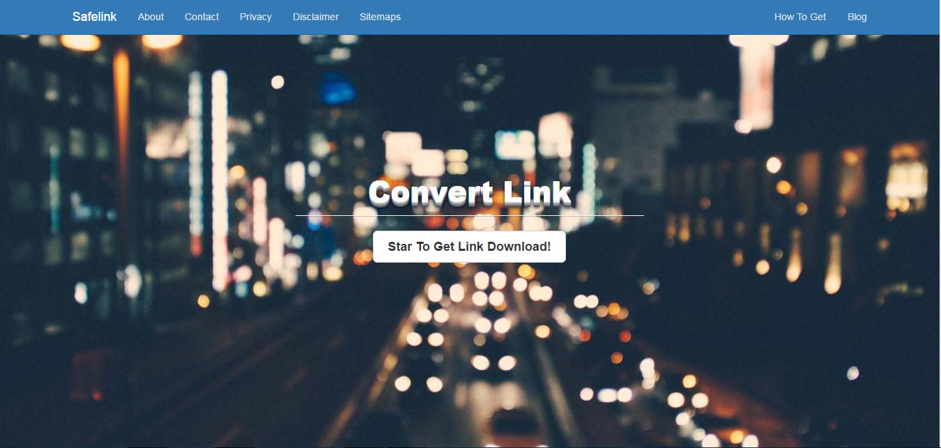 Savelink Converter Blogger With Botstrap
