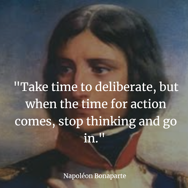Top Napoleon Bonaparte inspiring quotes