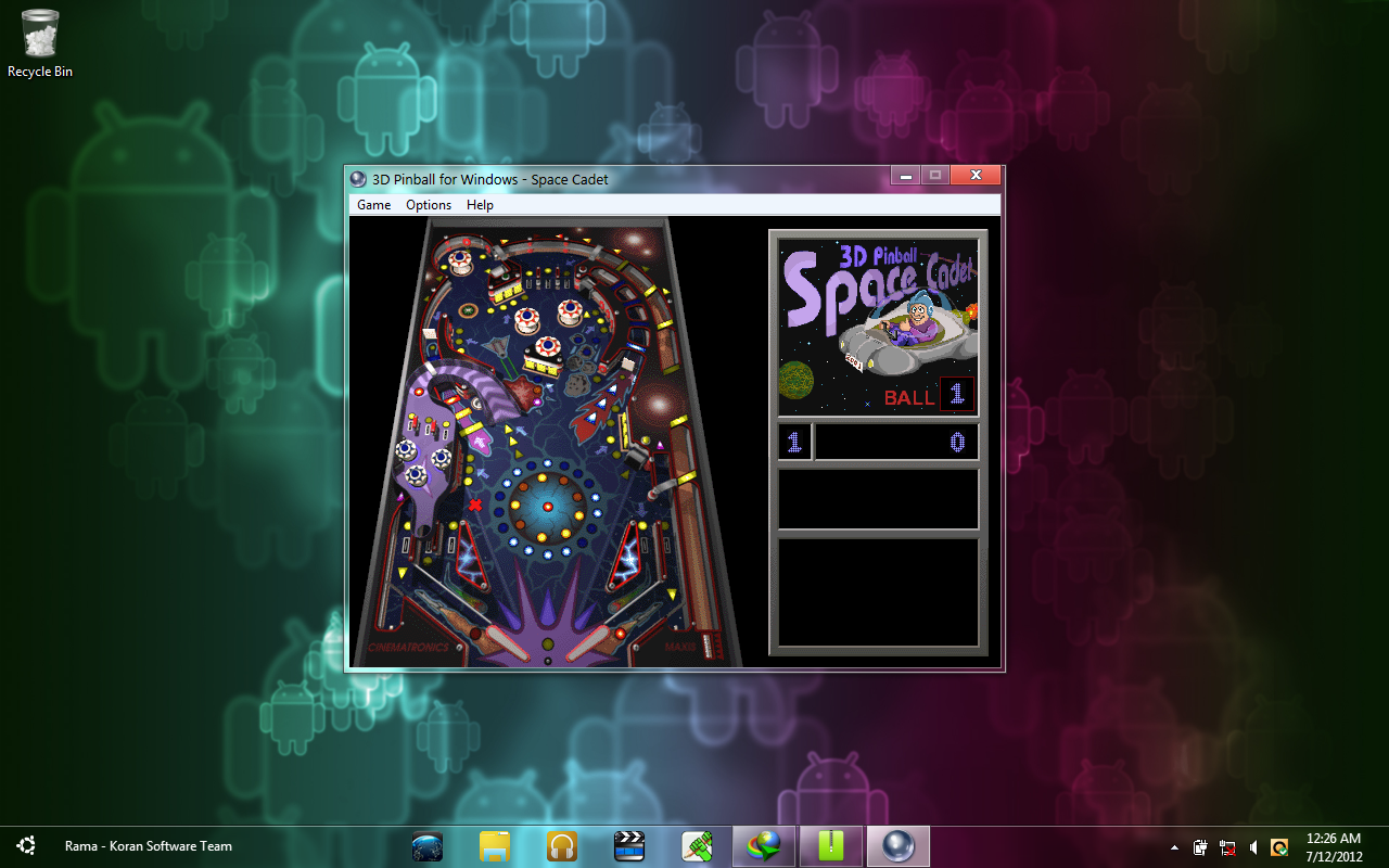 3d pinball space cadet download for windows xp