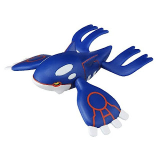 Kyogre figure Takara Tomy MONCOLLE EX Hyper Size EHP_09