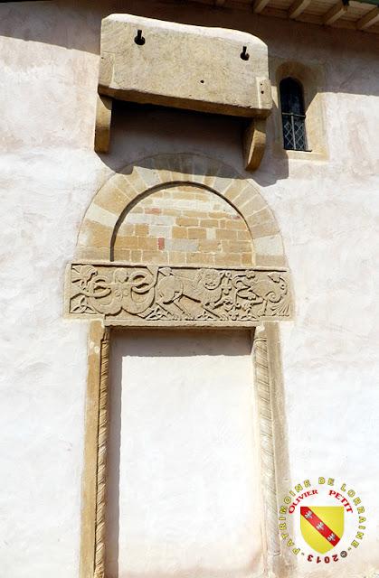 MEY (57) - Eglise Saint-Pierre - Portail roman