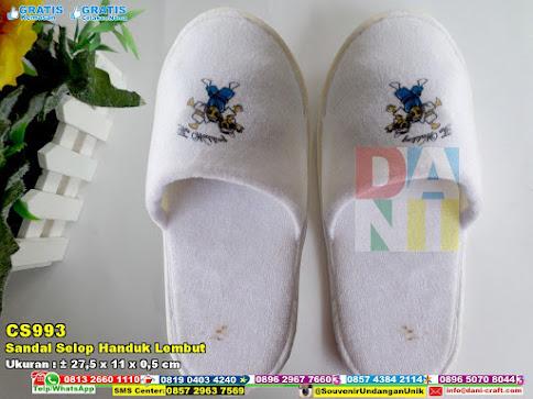 Sandal Selop Handuk Lembut