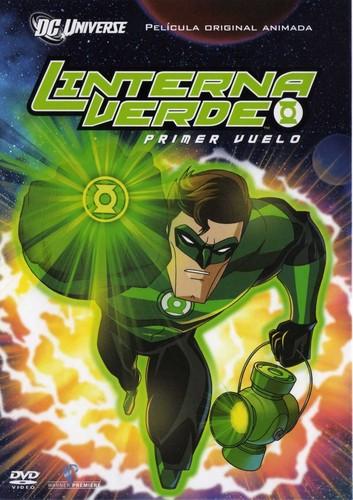 Linterna Verde: Primer Vuelo (2009)   3gp/Mp4/DVDRip Latino HD Mega