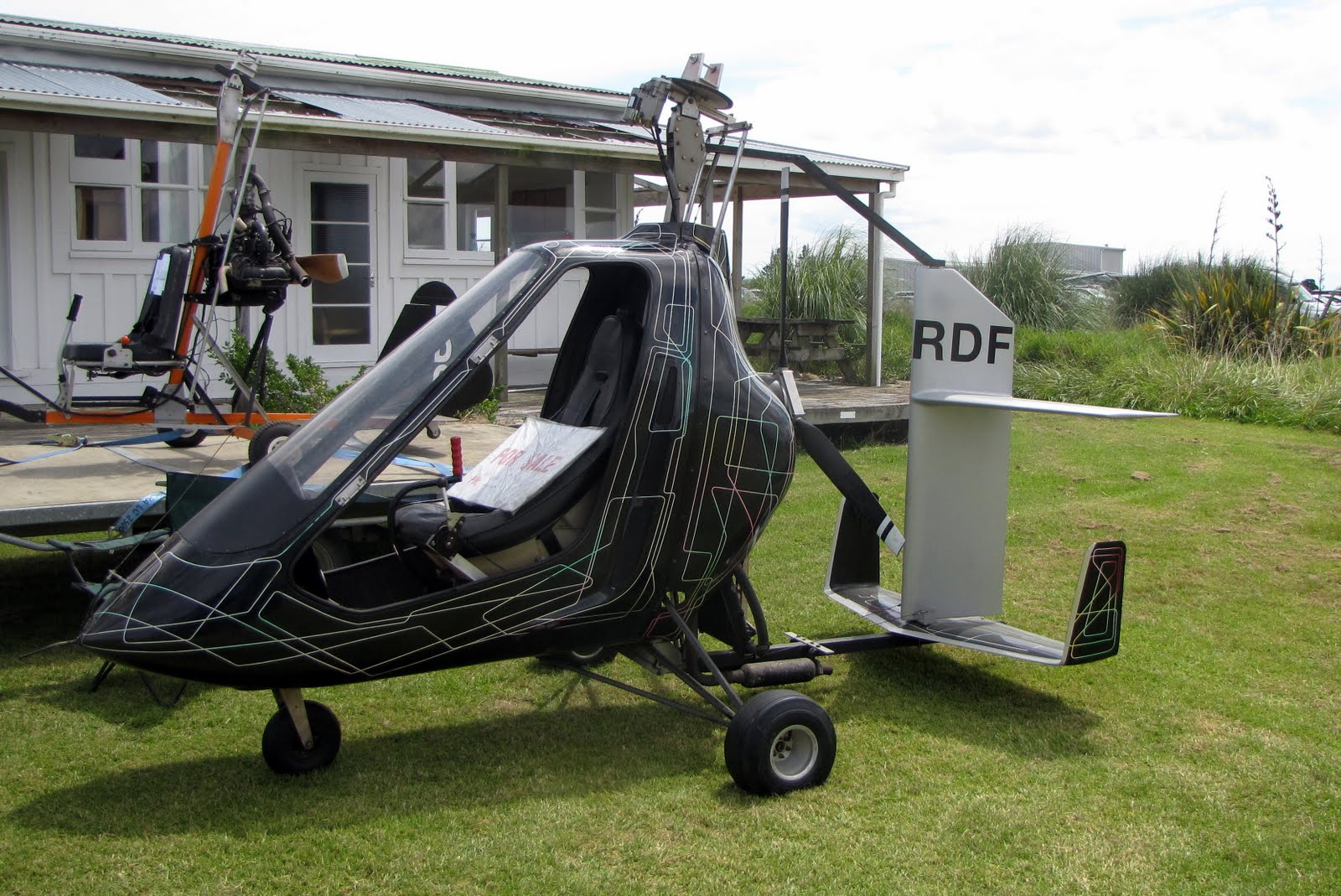 NZ Civil Aircraft: Gyrocopters at Parakai