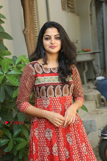 Telugu Actress Nikhila Vimal Latest Stills in Anarkali Dress  0166.JPG