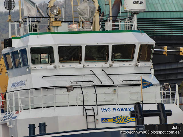 fotos de barcos, imagenes de barcos, bever, conquest mb 1, barcaza, remolcador, Vigo, Tampico, Costa Concordia