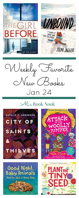 Weekly Favorite new books - children's middle grade ya adult novels and nonfiction