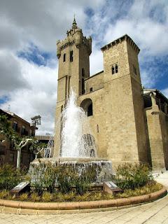 Iglesia de san Salvador; Ejea de los Caballeros; Cinco Villas; Aragón