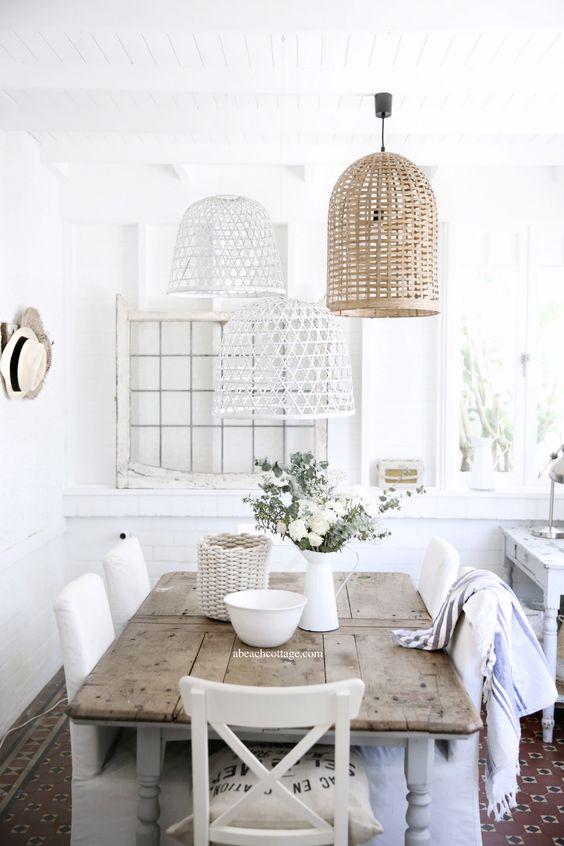 42 Inspiring Farmhouse Dining Room Decor Ideas