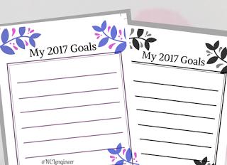 Goals Printable worksheet