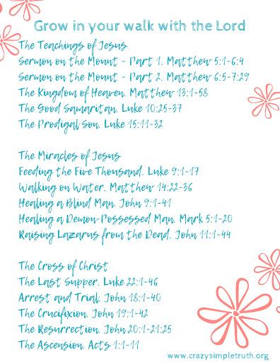 Nicki Drake - Crazy Simple Truth : BIBLE STUDY FREEBIES