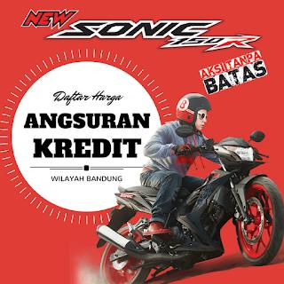 Daftar Harga cicilan Honda New Sonic 150R Special Edition Tahun 2016 wilayah Bandung