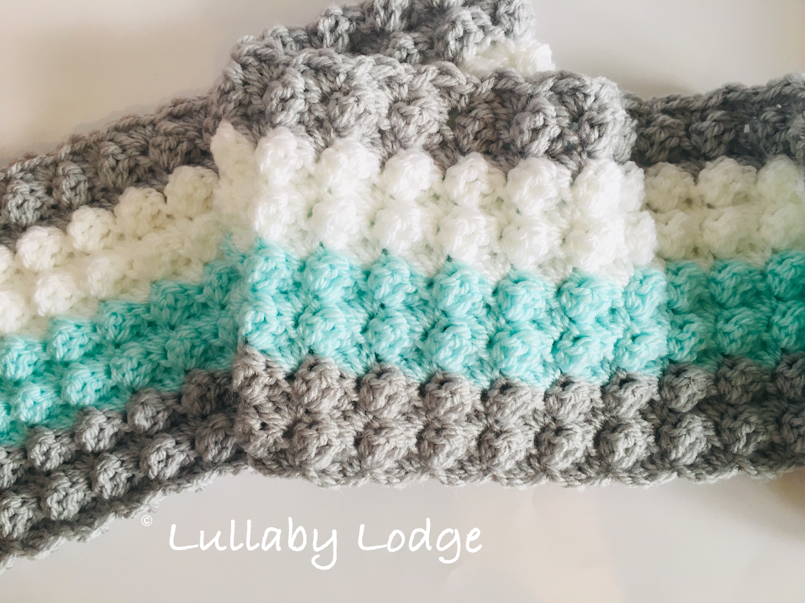Lullaby Lodge: The Blanket Stitch - Crochet Tutorial