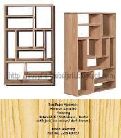 Jual Mebel Furniture Rak Lemari Buku Minimalis