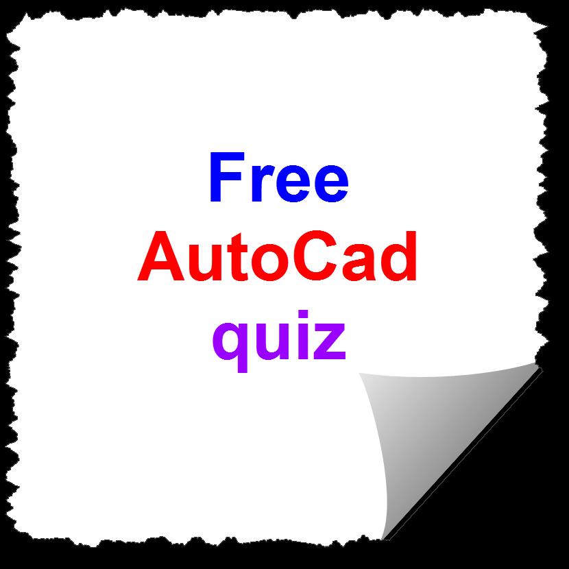Free Autocad Quiz Online Autocad Designer