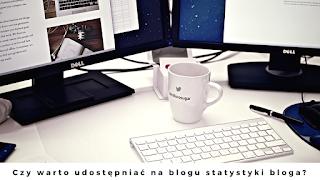 Czy warto udostępniać na blogu statystyki bloga?