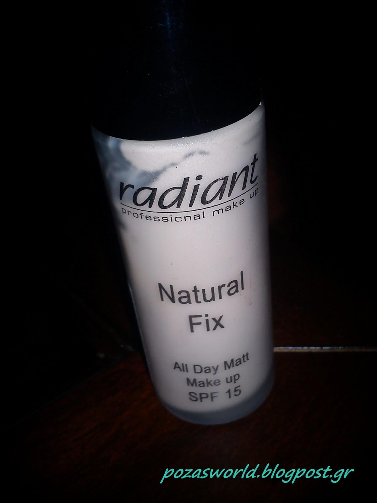 Natural Radiant Prom Makeup Tutorial: Pozas World: Radiant Natural Fix Make Up