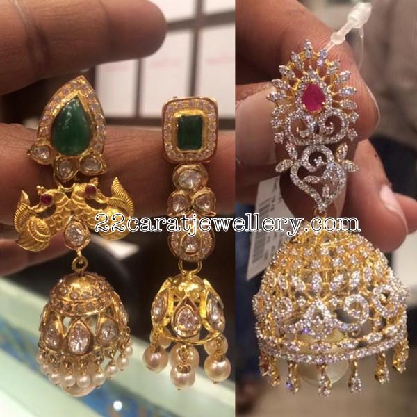 92ae11e851170 Jhumkas from Premraj Jewellers - Jewellery Designs