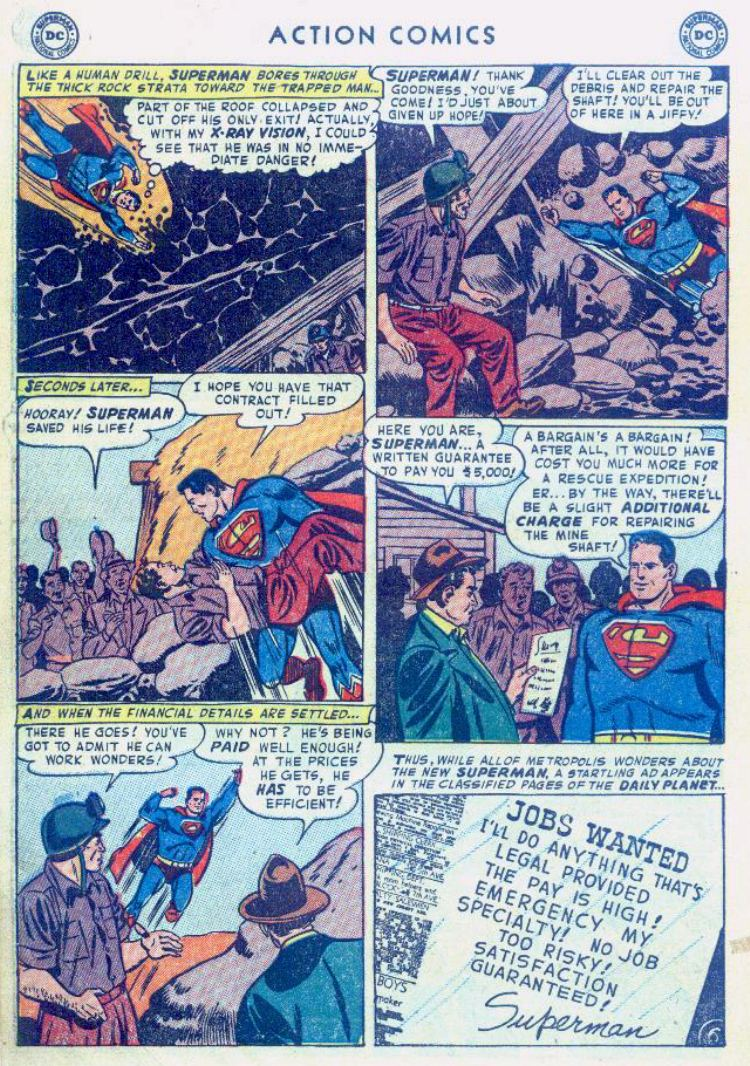 Read online Action Comics (1938) comic -  Issue #176 - 8