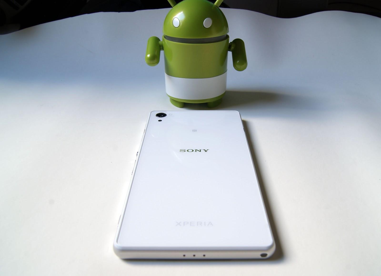 Sony Xperia Z2 - parte trasera - construcción de calidad