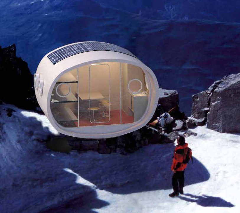 TThe LEAP (Living Ecological Alpine Pod)