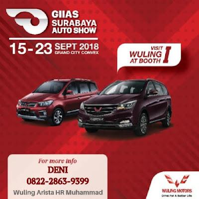 Promo menarik Wuling Surabaya di GIIAS Surabaya Auto Show