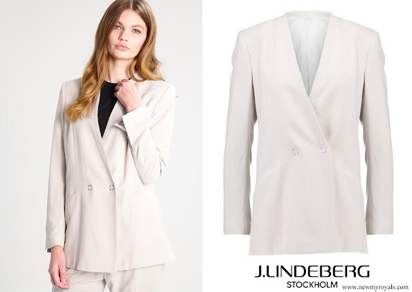 Crown Princess Victoria wore J. Lindeberg Skye blazer