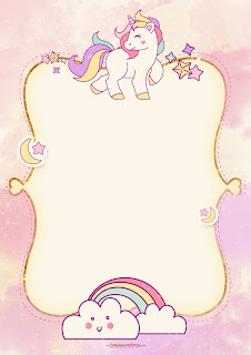 graphic about Free Printable Unicorn Invitations named Unicorn Bash: Free of charge Printable Invites. - Oh My Fiesta