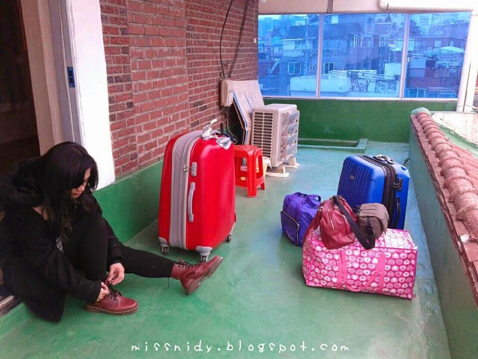 penginapan ala drama korea di seoul