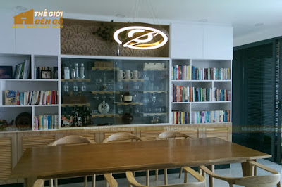 Thế Giới Đèn Gỗ - 8 mẫu đèn trang trí gỗ cho phòng ăn đẹp lung linh 20