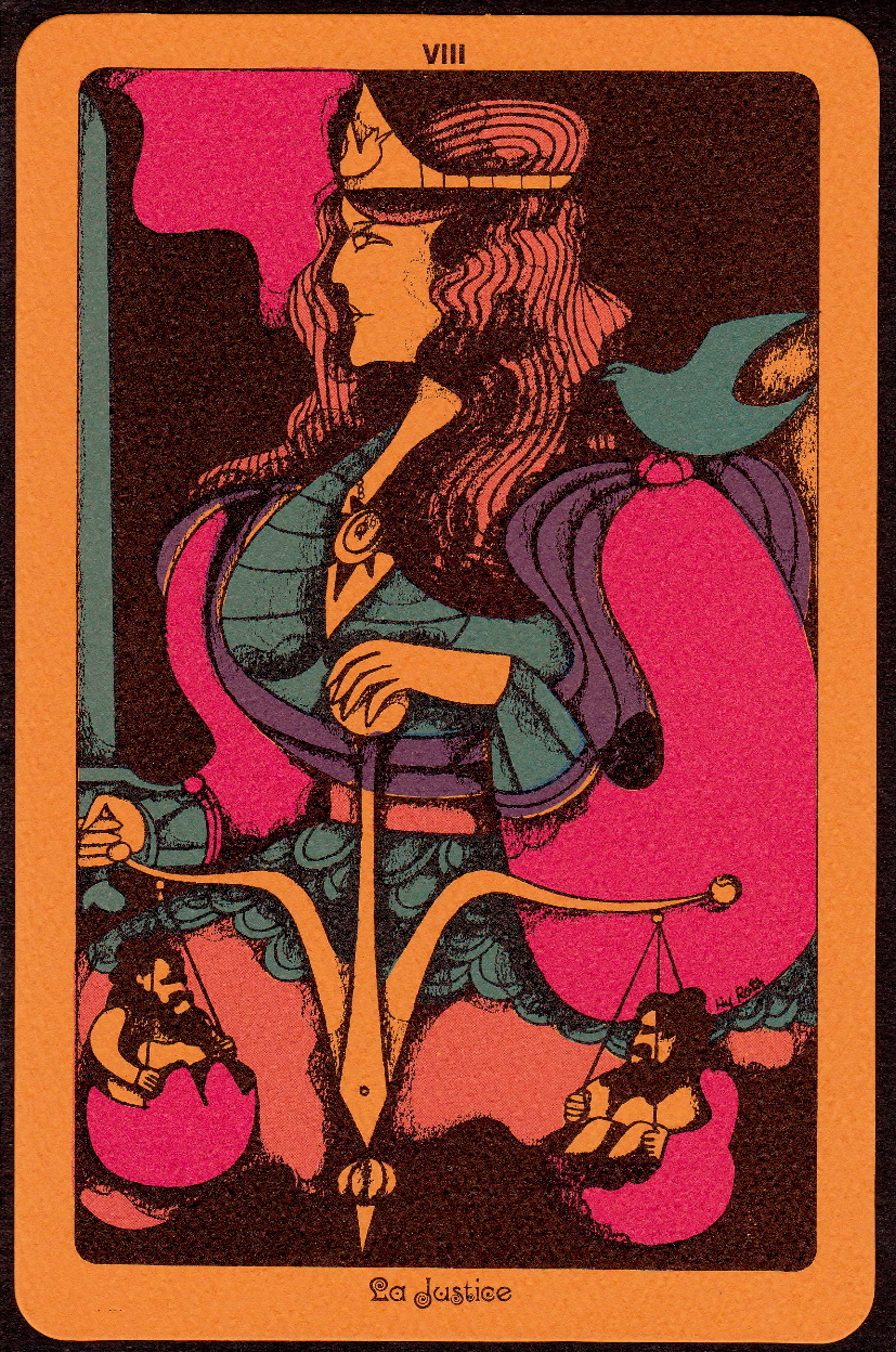SWEET JANE: Linweave Tarot 1967, The Illustrations Of Hy
