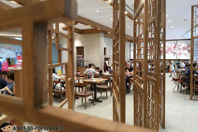 Interior of Din Tai Fung in Bonifacio High Street