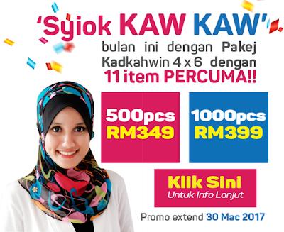 Promosi Syiok Kaw Kaw!