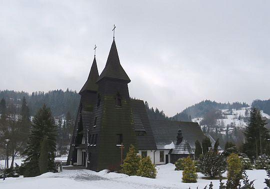 Kościół Matki Bożej Częstochowskiej w Rabce-Zaryte.