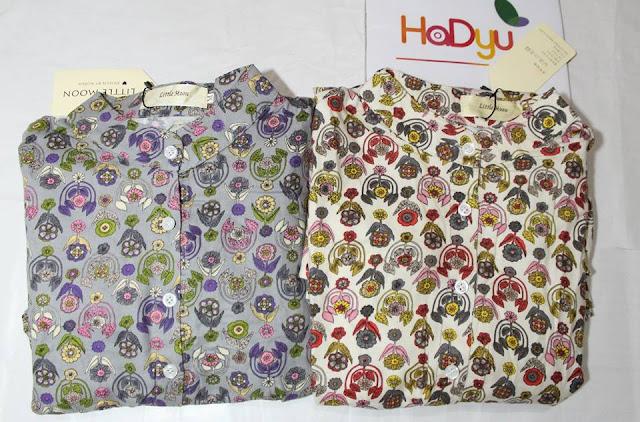 Đầm MiniGarden với những mẫu họa tiết cây cỏ   HaDyu Store
