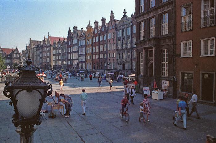 Gdansk, Dlugi Targ, © L. Gigout, 1990