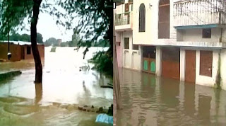 الہ آباد میں سیلاب کی وجہ سے کئی دیہات متاثر