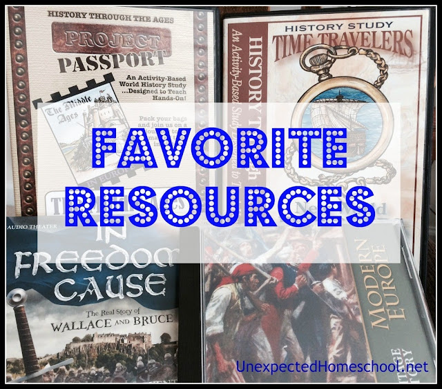 Unexpected Homeschool: Favorite Middle School Resources