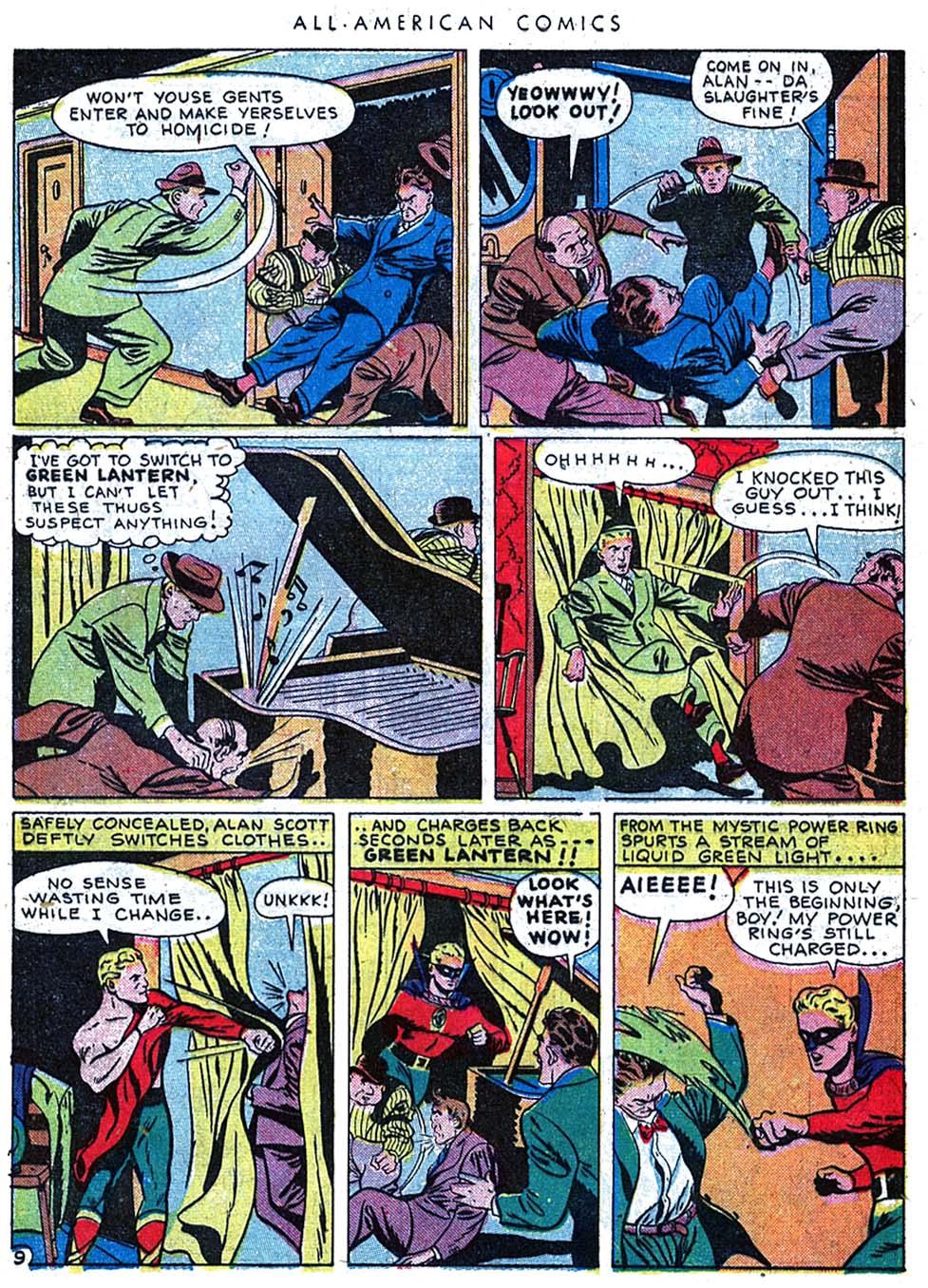 Read online All-American Comics (1939) comic -  Issue #63 - 11