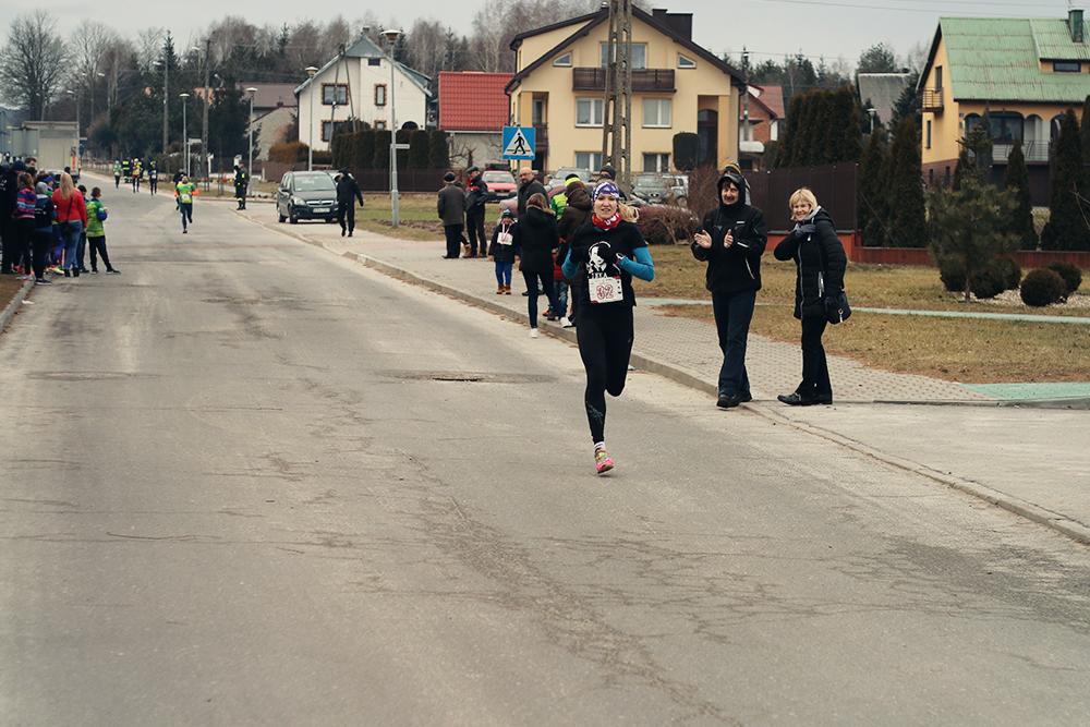 running race girl