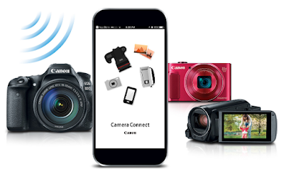 Canon EOS / PowerShot Remote Shooting App - Canon Camera Connect